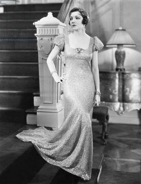 MISLEADING LADY, Claudette Colbert, 1932: MISLEADING LADY, Claudette Colbert, 1932