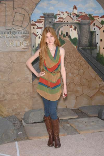 Katherine McNamara at arrivals for PUSS IN BOOTS Premiere, Regency Village Theater in Westwood, Los Angeles, CA October 23, 2011. Photo By: Michael Germana/Everett Collection