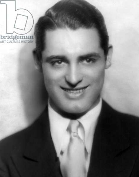 Cary Grant in stage portrait when he was still billed as Archie Leach, 1929