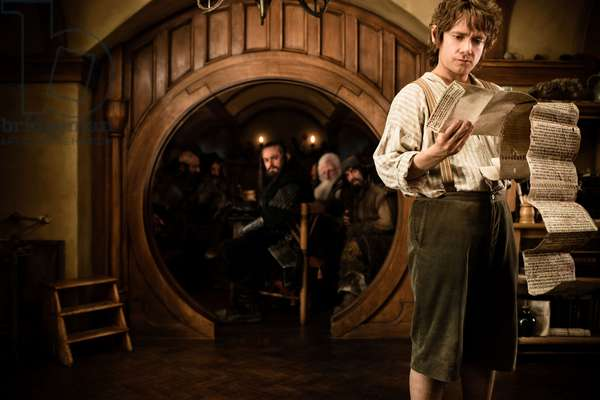 THE HOBBIT: AN UNEXPECTED JOURNEY, Martin Freeman, 2012. ph: James Fisher/©Warner Bros. Pictures/Courtesy Everett Collection