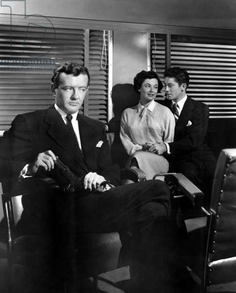 L'Inconnu du Nord-Express: STRANGERS ON A TRAIN, Robert Walker, Ruth Roman, Farley Granger, 1951.