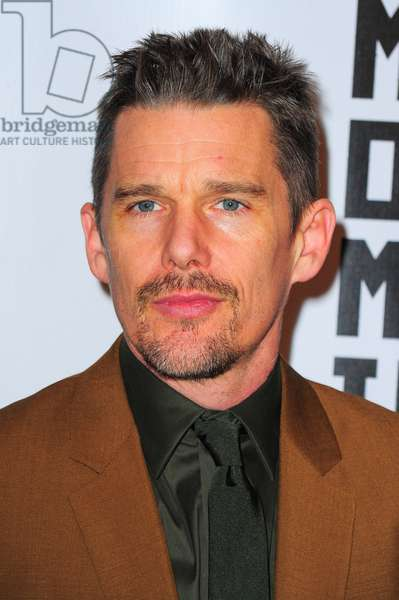 Ethan Hawke at arrivals for Museum Of The Moving Image 29th Annual Black-Tie Salute to Julianne Moore, 583 Park Avenue, New York, NY January 20, 2015. Photo By: Gregorio T. Binuya/Everett Collection