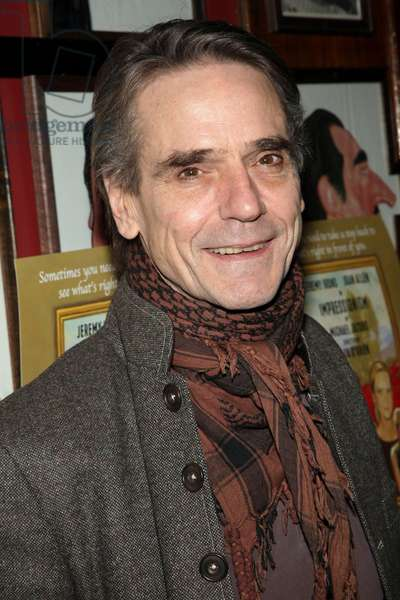 Jeremy Irons at arrivals for IMPRESSIONISM Opening Night on Broadway, Gerald Schoenfeld Theatre, New York, NY March 24, 2009. Photo By: Jay Brady/Everett Collection