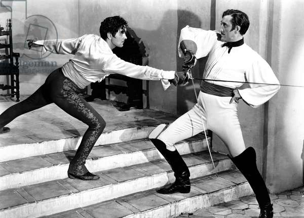 THE MARK OF ZORRO, Tyrone Power, Basil Rathbone, 1940, TM & Copyright (c) 20th Century Fox Film Corp. All rights reserved.