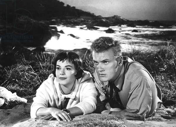 THE GIRL HE LEFT BEHIND, Natalie Wood, Tab Hunter, 1956