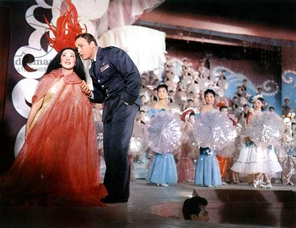 SAYONARA, Miiko Taka, Marlon Brando, 1957