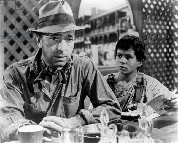 The Treasure of the Sierra Madre, Humphrey Bogart, Robert Blake, 1948