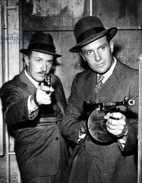 UNTOUCHABLES, 1959-63, Keenan Wynn, Robert Stack, 'Auggie 'The Banker' Ciamino' (2/9/61)
