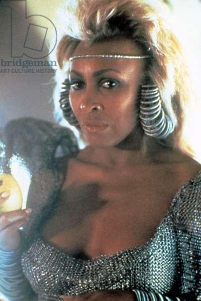 MAD MAX BEYOND THUNDERDOME, (aka Mad Max 3), Tina Turner, 1985. (c)Warner Bros. Courtesy: Everett Collection.