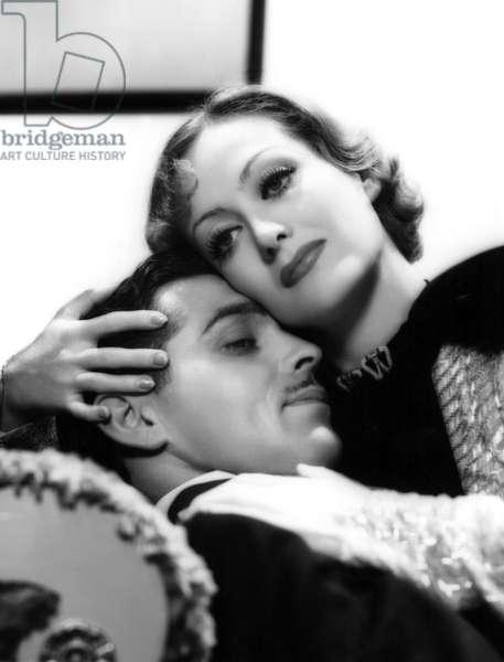 DANCING LADY, Clark Gable, Joan Crawford, 1933