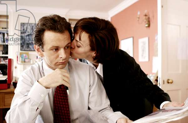 THE QUEEN, Michael Sheen as Prime Minister Tony Blair, Helen McCrory as his wife, Cherie Blair, 2006. ©Miramax/courtesy Everett Collection