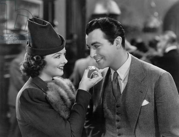 LUCKY NIGHT, Myrna Loy, Robert Taylor, 1939