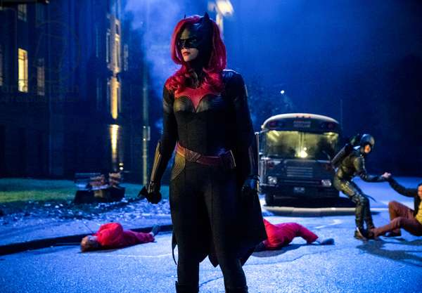 ARROW, Ruby Rose (as Batwoman), 'Elseworlds, Part 2', (Season 7, ep. 709, aired Dec. 10, 2018). photo: Jack Rowand / ©The CW / Courtesy: Everett Collection