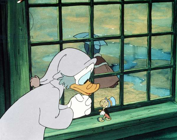 MICKEY'S CHRISTMAS CAROL, Scrooge McDuck, Jiminy Cricket, 1983, (c)Walt Disney Pictures/courtesy Everett Collection