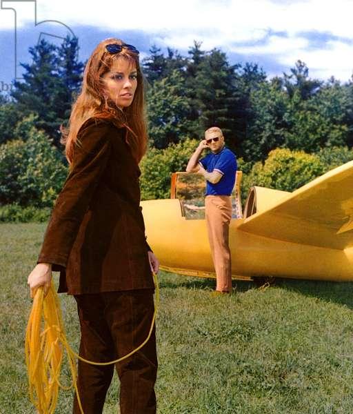 THE THOMAS CROWN AFFAIR, Astrid Heeren, Steve McQueen, 1968