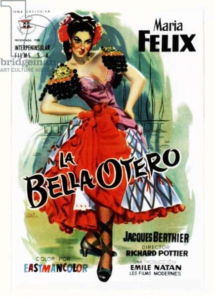 LA BELLE OTERO, (aka LA BELLA OTERO), Maria Felix, 1954