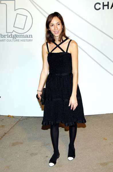 Gia Coppola at arrivals for Opening Night Party for Mobile Art: CHANEL Contemporary Art Container by Zaha Hadid, Rumsey Playfield in Central Park, New York, NY, October 21, 2008. Photo by: Desiree Navarro/Everett Collection