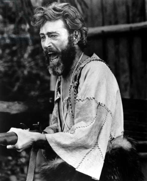 MAN FRIDAY, Peter O'Toole, 1975