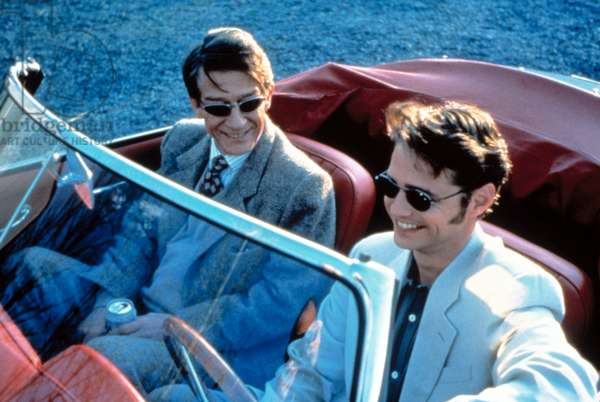 LOVE AND DEATH ON LONG ISLAND, John Hurt, Jason Priestley, 1997.