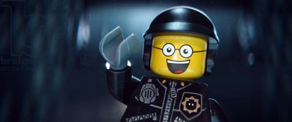 THE LEGO MOVIE, Bad Cop/Good Cop (voice: Liam Neeson), 2014. ©Warner Bros. Pictures/courtesy Everett Collection