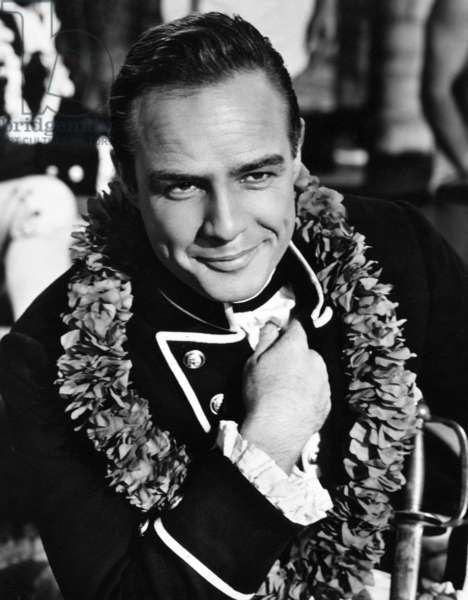 MUTINY ON THE BOUNTY, Marlon Brando, 1962