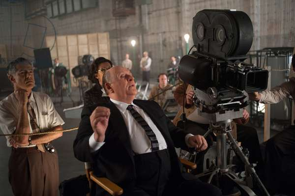 Hitchcock: HITCHCOCK, Anthony Hopkins, as Alfred Hitchcock (center of frame), 2012. ph: Suzanne Tenner/TM and ©Fox Searchlight Pictures. All rights reserved./Courtesy Everett Collection