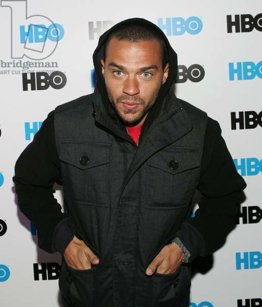 Jesse Williams at arrivals for Official Love, Peace & Hair Grease Party Hosted by HBO, Cafe Terigo, Park City, UT January 22, 2012. Photo By: James Atoa/Everett Collection