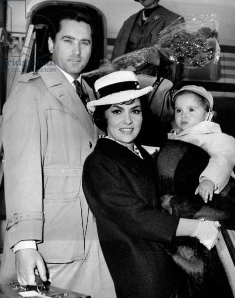Gina Lollobrigida, Milko Skofic and Milko Skofic junior