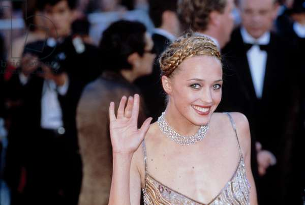 Helene de Fougerolles at Cannes Film Festival 2001, by Thierry Carpico