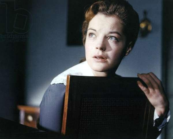 MADCHEN IN UNIFORM, Romy Schneider, 1958