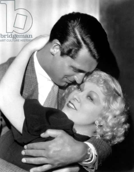 Je ne suis pas un Ange: I'M NO ANGEL, from left: Cary Grant, Mae West, 1933