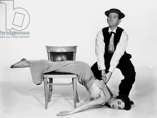 L'homme qui n'a jamais ri: THE BUSTER KEATON STORY, Ann Blyth, Donald O'Connor, 1957, Donald O'Conner as Buster Keaton