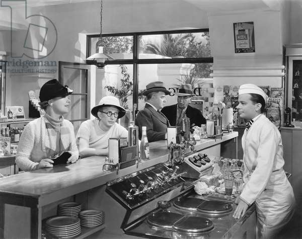 People at a Soda Fountain
