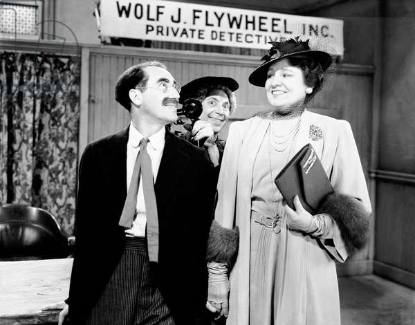 THE BIG STORE, Groucho Marx, Harpo Marx, Margaret Dumont, 1941