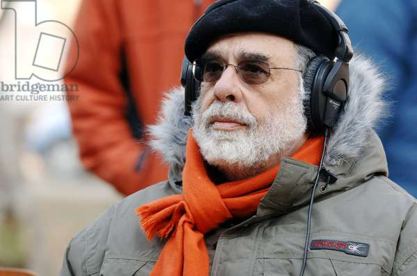 YOUTH WITHOUT YOUTH, director Francis Ford Coppola, on set, 2007. ©Sony Pictures Classics/courtesy Everett Collection