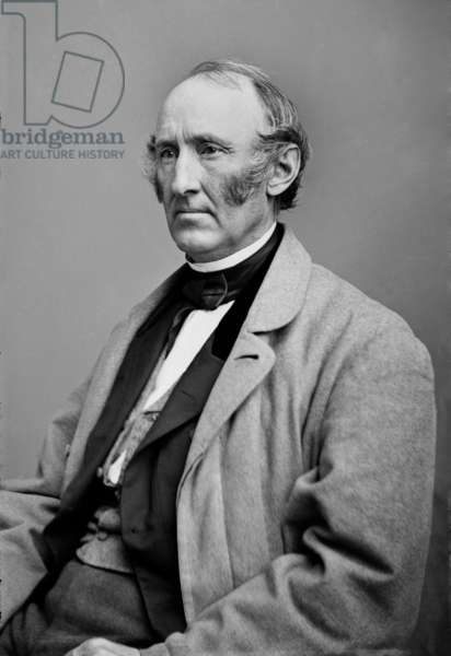 Wendell Phillips: Wendell Phillips (1822-1884), American Abolitionist, was impatient with the slowness of Lincoln's emancipation policy. After the Emancipation proclamation took effect in 1863, he redirected his anti-slavery activism to achieving full civil rights for African American freedmen. Portrait by Mathew Brady studio ca. 1860.