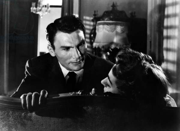 SUDDEN FEAR, Jack Palance, Joan Crawford, 1952.