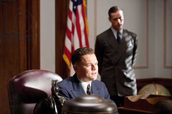 J.Edgar: J. EDGAR, l-r: Leonardo DiCaprio (as J. Edgar Hoover), Armie Hammer (as Clyde Tolson), 2011, ph: Keith Bernstein/©Warner Bros. Pictures/courtesy Everett Collection