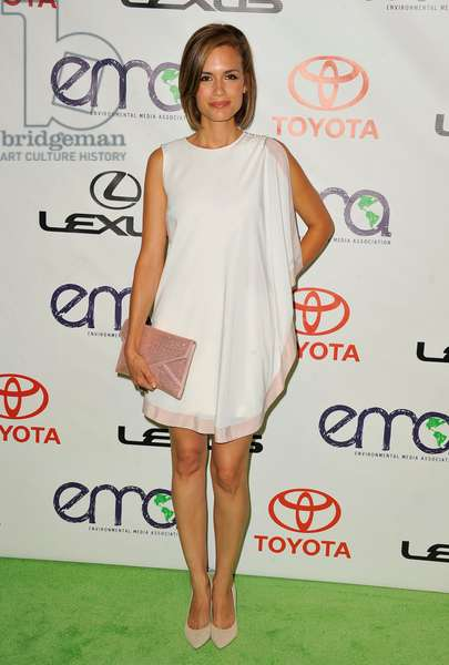 Torrey DeVitto: Torrey DeVitto at arrivals for The 2012 Environmental Media Awards, Warner Bros. Studios, Burbank, CA September 29, 2012. Photo By: Dee Cercone/Everett Collection