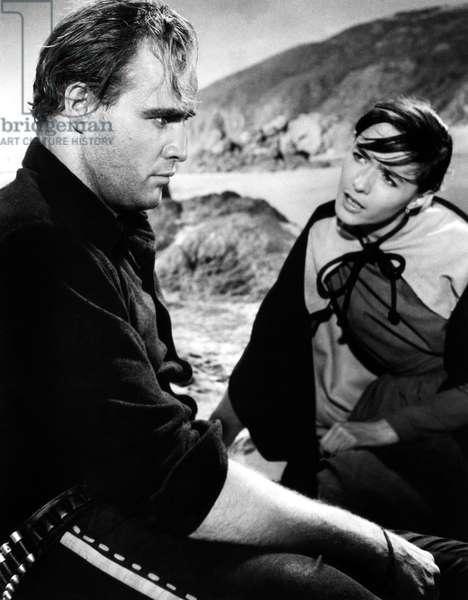 La vengeance aux deux visages: ONE-EYED JACKS, Marlon Brando, Pina Pellicer, 1961