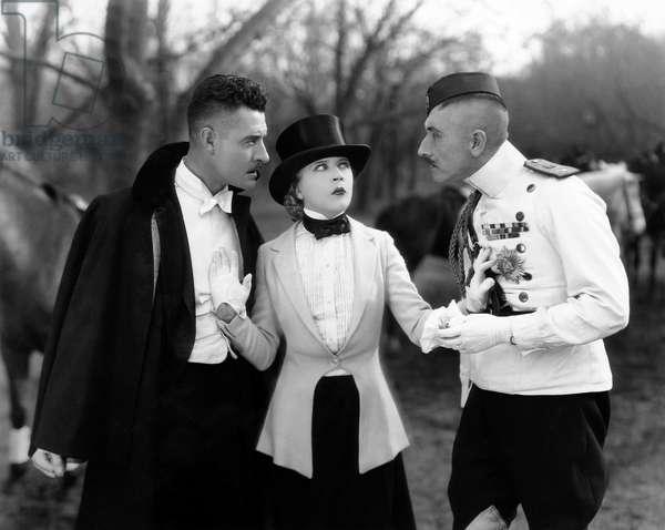 La Veuve joyeuse: THE MERRY WIDOW, John Gilbert, (left), Mae Murray, 1925