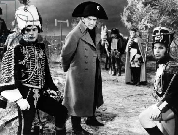 Austerlitz: THE BATTLE OF AUSTERLITZ, (aka AUSTERLITZ), from left: Jean-Louis Trintignant, Pierre Mondy as Napoleon Bonaparte, 1960