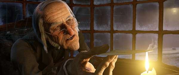 Le Drole de Noel de Scrooge: A CHRISTMAS CAROL, Scrooge (voice: Jim Carrey), 2009. ©Walt Disney Studios Motion Pictures/Courtesy Everett Collection