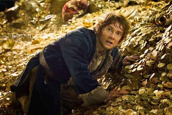 Le Hobbit: La Desolation du Smaug: THE HOBBIT: THE DESOLATION OF SMAUG, Martin Freeman as Bilbo Baggins, 2013. ph: Mark Pokorny/©Warner Bros. Pictures/courtesy Everett Collection