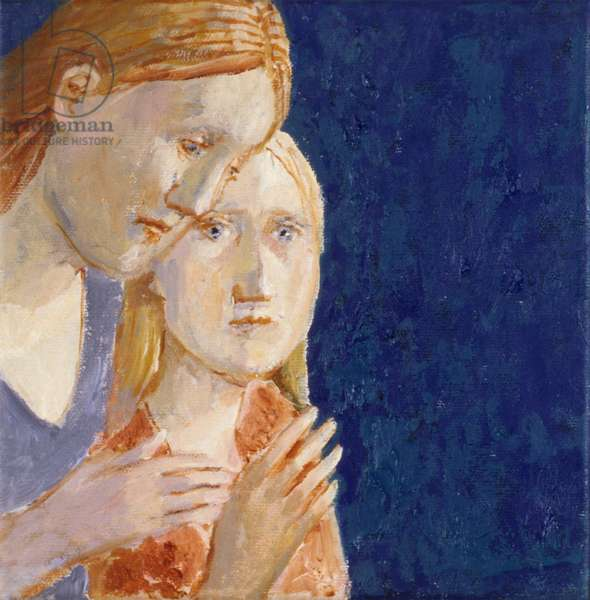 Sisters 1, 2007 (oil on canvas)