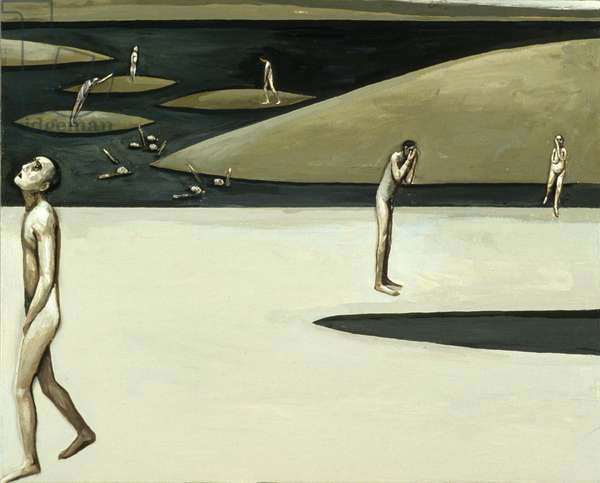 All the People - Loneliness, 1982 (oil on canvas)