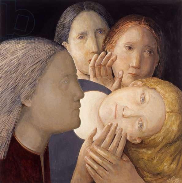 Quartet 1, 2007 (oil on canvas)