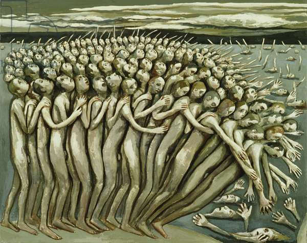 All The People - The Abyss, 1982 (oil on canvas)