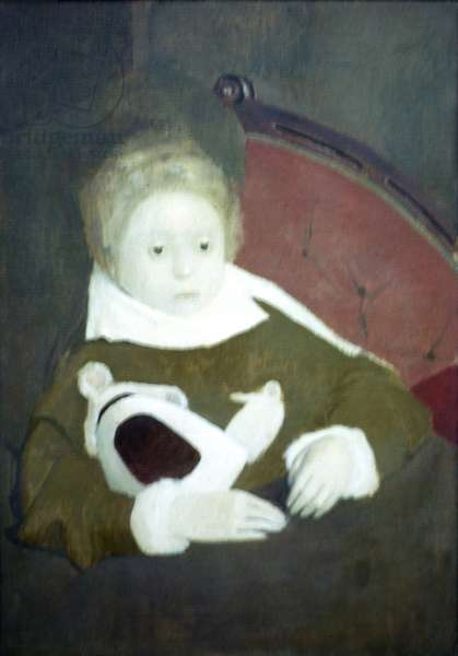 The Sick Child, 1950 (oil on canvas)