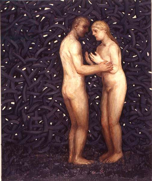 The Nature of Love, 1999 (oil on canvas)
